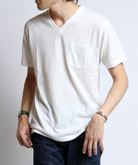 TCR BASIC V-NECK Tシャツ