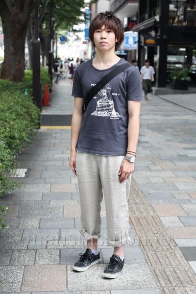 ファッションコーディネート原宿・表参道 2010年7月 きいちさん