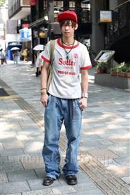 ファッションコーディネート原宿・表参道 2010年7月その2