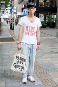 ファッションコーディネート原宿・表参道 2010年8月その1