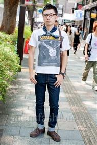 ファッションコーディネート原宿・表参道 2010年8月その16