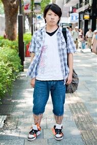 ファッションコーディネート原宿・表参道 2010年8月その23