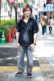 ファッションコーディネート原宿・表参道 2010年10月 仲山和伸さん