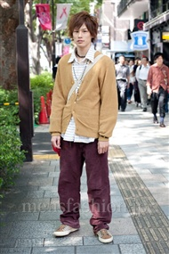 ファッションコーディネート原宿・表参道 2010年10月 佐藤悠紀さん