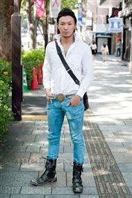 ファッションコーディネート原宿・表参道 2010年10月 シンキチさん