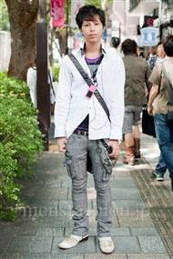 ファッションコーディネート原宿・表参道 2010年10月 チバユウキさん
