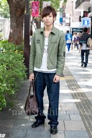 ファッションコーディネート原宿・表参道 2010年10月 藤田敦紀さん