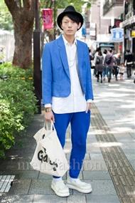 ファッションコーディネート原宿・表参道 2010年10月 IPPEIさん
