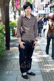 ファッションコーディネート原宿・表参道 2010年10月 ふかわさん