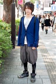 ファッションコーディネート原宿・表参道 2010年10月 神木太智さん
