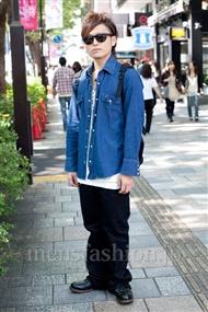 ファッションコーディネート原宿・表参道 2010年10月 吉田拓也さん