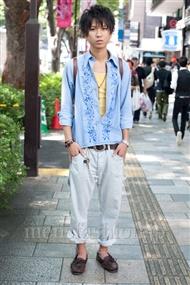 ファッションコーディネート原宿・表参道 2010年10月 giwaさん