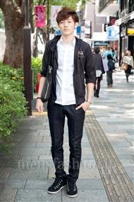 ファッションコーディネート原宿・表参道 2010年10月 宇梶圭祐さん