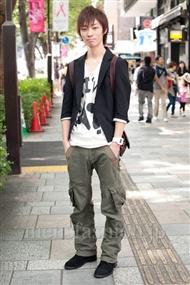 ファッションコーディネート原宿・表参道 2010年10月 安田博紀さん