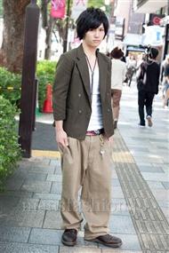 ファッションコーディネート原宿・表参道 2010年10月 吉河大樹さん