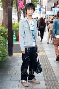 ファッションコーディネート原宿・表参道 2010年10月 T.Kさん