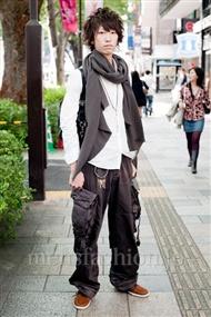 ファッションコーディネート原宿・表参道 2010年10月 鈴木成彬さん