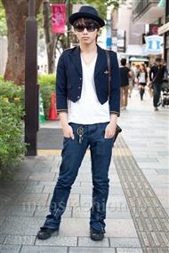 ファッションコーディネート原宿・表参道 2010年10月 栗原拓也さん