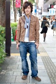 ファッションコーディネート原宿・表参道 2010年10月 玉田一平さん