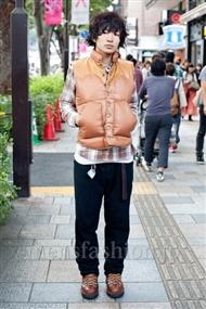 ファッションコーディネート原宿・表参道 2010年10月 鈴木 了