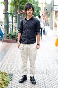 ファッションコーディネート渋谷 2010年10月 Naokiさん