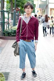 ファッションコーディネート渋谷 2010年10月 越智 誠さん