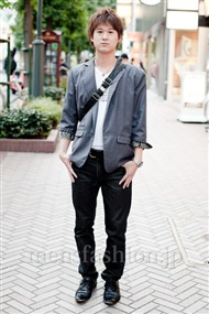 ファッションコーディネート渋谷 2010年10月 大森 優さん
