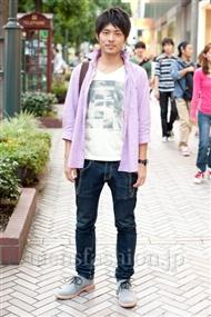 ファッションコーディネート渋谷 2010年10月 酒井祐樹さん