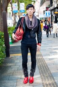 ファッションコーディネート原宿・表参道 2010年11月 IPPEIさん