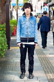 ファッションコーディネート原宿・表参道 2010年11月 鈴木りょんさん