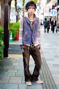 ファッションコーディネート原宿・表参道 2010年11月 giwaさん