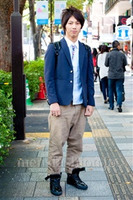 ファッションコーディネート原宿・表参道 2010年11月 くわさん