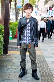 ファッションコーディネート原宿・表参道 2010年11月 つんちゃんさん
