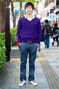 ファッションコーディネート原宿・表参道 2010年11月 藤原大樹さん