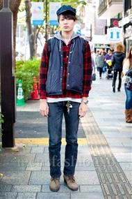 ファッションコーディネート原宿・表参道 2010年11月 鈴木洋平さん