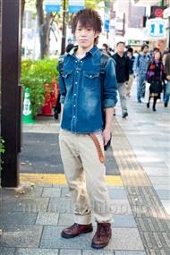 ファッションコーディネート原宿・表参道 2010年11月 下平葵さん