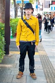 ファッションコーディネート原宿・表参道 2010年11月 川内涼さん