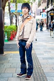 ファッションコーディネート原宿・表参道 2010年11月 大和田昇さん