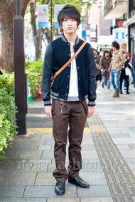 ファッションコーディネート原宿・表参道 2010年11月 たけいさん