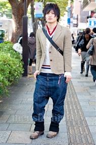 ファッションコーディネート原宿・表参道 2010年11月 井澤壮典さん