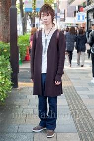 ファッションコーディネート原宿・表参道 2010年11月 安田博紀さん