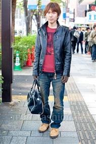 ファッションコーディネート原宿・表参道 2010年11月 前田広喜さん