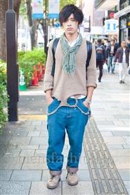 ファッションコーディネート原宿・表参道 2010年11月 柴嵜史也さん