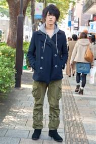 ファッションコーディネート原宿・表参道 2010年11月 小佐々龍人さん