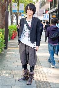 ファッションコーディネート原宿・表参道 2010年11月 神木太智さん