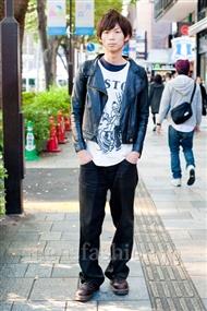 ファッションコーディネート原宿・表参道 2010年11月 長谷部博之さん