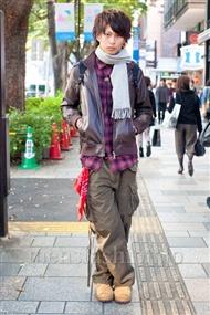 ファッションコーディネート原宿・表参道 2010年11月 関佑介さん