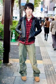 ファッションコーディネート原宿・表参道 2010年11月 鈴木康佑さん