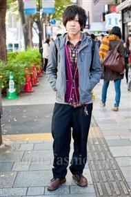 ファッションコーディネート原宿・表参道 2010年11月 齊藤雅弘さん