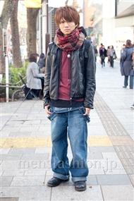 ファッションコーディネート原宿・表参道 2010年12月 塚越雄喜さん